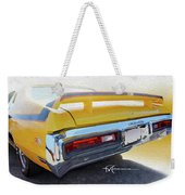Screamin' Yellow Buick Weekender Tote Bag