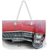 Redhead Cadillac Weekender Tote Bag