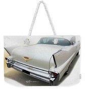White Wings Weekender Tote Bag