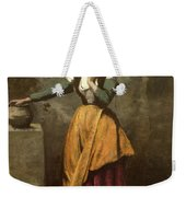 Dreamer At The Fountain Weekender Tote Bag