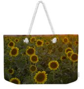 Dreaming In Sunflowers Weekender Tote Bag