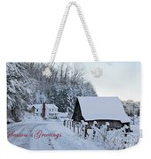 Dreaming Of A White Christmas Weekender Tote Bag