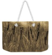 Dreaming Of Cattails Weekender Tote Bag