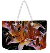 Dreaming Of Lilies 5 Weekender Tote Bag
