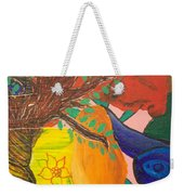 Dreaming Tree Abstract Weekender Tote Bag