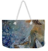 Dreaming Young Girl Weekender Tote Bag