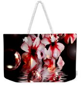 Dreams 5 - Floral Weekender Tote Bag
