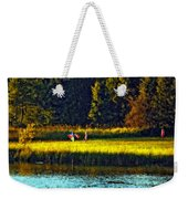 Dreams Can Fly Impasto Weekender Tote Bag
