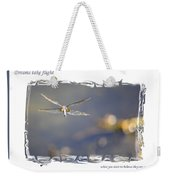 Dreams Take Flight Poster Or Card Weekender Tote Bag