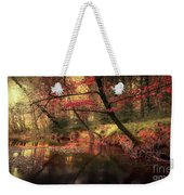 Dreamy Autumn Forest Weekender Tote Bag
