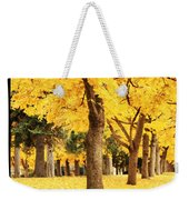 Dreamy Autumn Gold Weekender Tote Bag