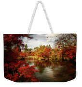 Dreamy Autumn Impressionism Weekender Tote Bag