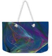 Dreamy Blue Weekender Tote Bag