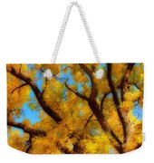 Dreamy Crisp Autumn Day Weekender Tote Bag