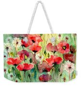 Dreamy Hot Summer Fields Weekender Tote Bag