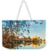 Dreamy Jefferson And Flowers Weekender Tote Bag