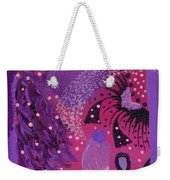 Dreamy Abstract Weekender Tote Bag
