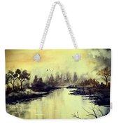 Dreamy Lake Weekender Tote Bag