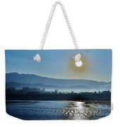 Dreamy Morning On The Ganges Weekender Tote Bag