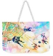 Dreamy Pastel Carnival Weekender Tote Bag