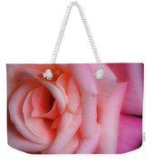 Dreamy Pink Rose Weekender Tote Bag
