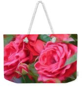Dreamy Red Roses - Digital Art Weekender Tote Bag