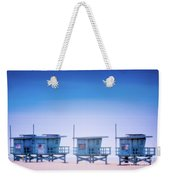 Dreamy Santa Monica Beach Weekender Tote Bag