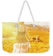 Dreamy Summer Fields Weekender Tote Bag
