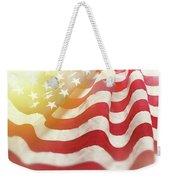 Dreamy Usa Flag 1 Weekender Tote Bag