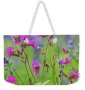 Dreamy Wildflowers Weekender Tote Bag