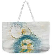 Dreamy World In Blue Weekender Tote Bag