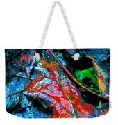 Drenched In Color Weekender Tote Bag