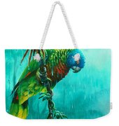 Drenched - St. Lucia Parrot Weekender Tote Bag