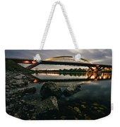 Dresden Waldschloesschenbridge Sunset Weekender Tote Bag