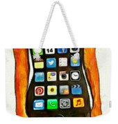 Dressing Iphone Weekender Tote Bag