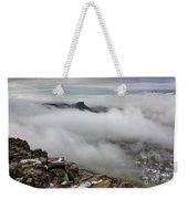 Drfiting Fog Weekender Tote Bag