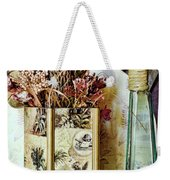 Dried Floral Still Weekender Tote Bag