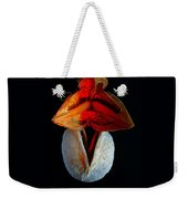 Composition With Dried Flowers Red Hat. Weekender Tote Bag
