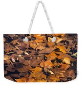 Dried Leaves Weekender Tote Bag
