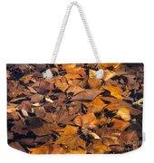 Dried Leaves Weekender Tote Bag
