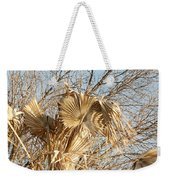 Dried Palm Fronds In The Wind Weekender Tote Bag