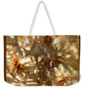 Dried Safflower Weekender Tote Bag
