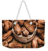 Dried Whole Peanuts In Their Seedpods Weekender Tote Bag