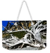 Drift Wood Weekender Tote Bag