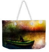 Drifting Into The Light Weekender Tote Bag