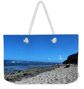 Drifting On The Beach In Dominican Republic  Weekender Tote Bag