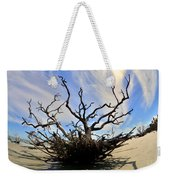 Driftwood And Roots Hunting Island Sc Weekender Tote Bag by Lisa Wooten