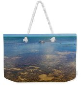 Driftwood At Low Tide In Key West Weekender Tote Bag
