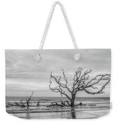 Still Standing In Black And White Weekender Tote Bag