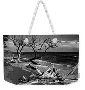 Driftwood Bw Fine Art Photography Print Weekender Tote Bag